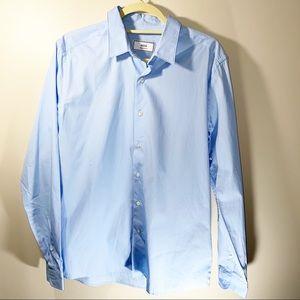 Ami Alexandre Mattiussi Blue Button Up Shirt 42